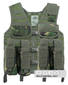MOLLE Paintball Vest
