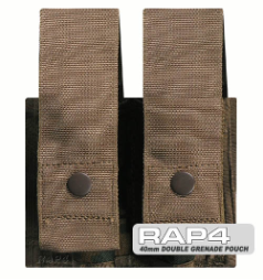 MOLLE 40mm Double Grenade Pouch
