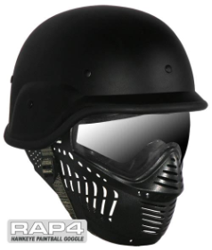 Hawkeye Goggle with US Army/Police Training Helmet