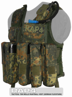 Tactical Ten Paintball Vest
