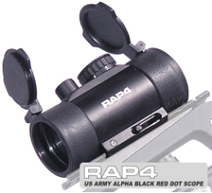 Tippmann Alpha Black Red Dot Scope