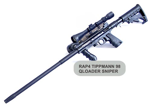 Paintball guns tippmann sniper