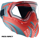 Valken Identity Goggles - Red/Grey