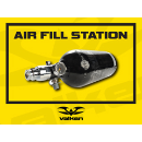 Paintball Field Sign - Air Fill Station