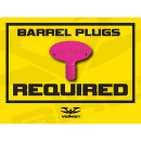 Paintball Field Sign - Barrel Plugs Required