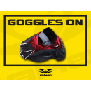 Paintball Field Sign - Goggles On (Out of Stock)