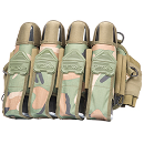 VTac Sierra Harness (4+7) - Woodland