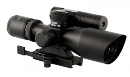 Tactical 2.5-10x40 Dual Ill. Compact Scope w/Green Laser
