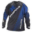 Empire 2014 Contact Zero FT Paintball Jersey - Blue