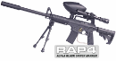 Alpha Black Tactical Sniper Paintball Gun