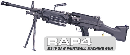 M249 SAW Minimi Paintball Machine Gun
