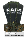 Rap4 Tactical Paintball Harness - German Flektarn