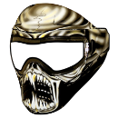 Warlord Alien Skull Paintball Mask