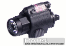 Tippmann TPX Pistol Quick Detachable Flashllight w/Laser Combo