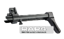 Alpha Black SMG Retractable Buttstock