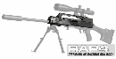 Tippmann A5 Machine Gun Body