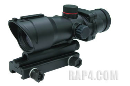 Alpha Black ACOG 1x30 Red Dot Scope