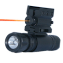 Pistol Mount Laser + Quick Release Flashlight