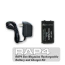 RAP4 Box Magazine Rechargeable Battery & Charger Kit