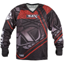 Contract Killer Hex Paintball Jersey - Red