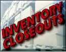 Factory Closeout Specials