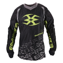 Empire 2015 Contact F5 Jersey w/Em-Dri - Black/Lime