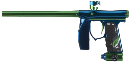Empire Mini S.E. Paintball Gun - Blue/Green