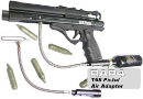 T68 Paintball Pistol with Air Adaptor
