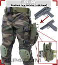 Tactical Paintball Pistol Leg Holster (.68 cal pistols)