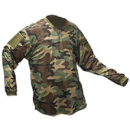VTac Echo Paintball Jersey - Woodland Camo