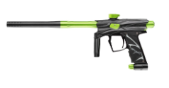 D3fy D3S Paintball Gun - Black/Lime/Black