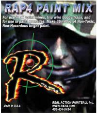 RAP4 Paint Mix