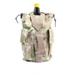MOLLE Vertical CO2 Paintball Air Tank Pouch
