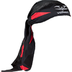 Valken Crusade RIOT Headwrap - Red