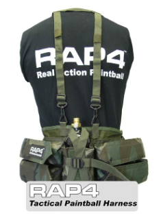 Rap4 Tactical Paintball Harness - Woodland