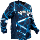 Valken Crusade Hatch Paintball Jersey - Blue
