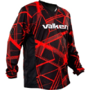 Valken Crusade Hatch Paintball Jersey - Red