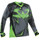 Valken Redemption Vexagon Jersey - Lime/Grey