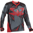 Valken Redemption Vexagon Jersey - Red/Grey