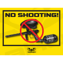 Paintball Field Sign - No Shooting