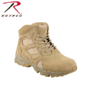 "Rothco 6"" Forced Entry Desert Tan Deployment Boot"