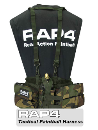 Rap4 Tactical Paintball Harness - DPM