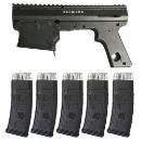 Tippmann 98 Tacamo Blizzard Magfed Conversion Kit (5 Mags)