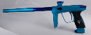 DLX Luxe 2.0 OLED Paintball Gun - Dust Teal/Gloss Blue
