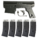 Alpha Black Tacamo Blizzard Magfed Conversion Kit (5 Mags)
