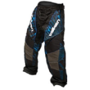 Valken Redemption Pants - Blue Slash