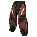 Valken Redemption Pants - Orange Slash