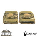 Night Crawler Tactical Elbow Pads - ATPAT