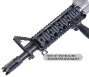 BT Paintball Gun RIS Tactical Handguard Barrel Kit