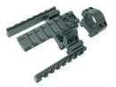 X7 Phenom Tri-Rail Mount w/Deluxe Weaver Rings